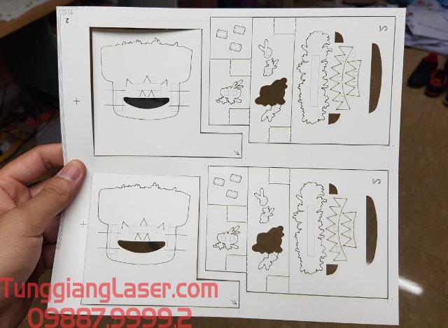 Cắt laser trên giấy mang lại nhiều lợi ích