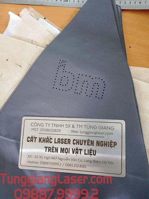 Ứng dụng cắt laser lên vải làm ô dù