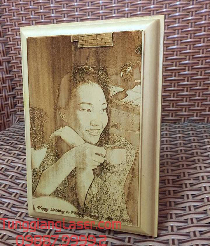 tranh gỗ làm quà tặng độc đáo
