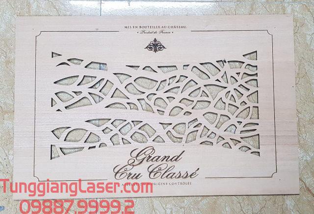 Dịch vụ cắt khắc laser hộp gỗ quà tặng tại hà nội