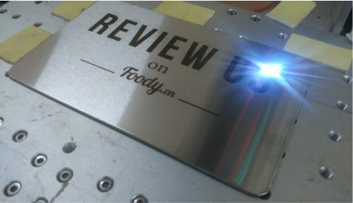 Giới thiệu về công nghệ khắc laser trên kim loại